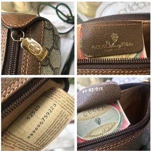 Gucci Bags - Vintage Gucci Supreme GG PVC Canvas Crossbody Bag